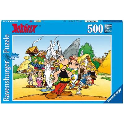 Puzzle Ravensburger-14635 Asterix & Co.
