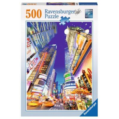 Puzzle Ravensburger-14648 Leuchtender Times Square