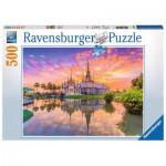 Puzzle  Ravensburger-14649 Wat Thai, Thailand