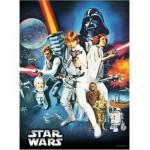 Puzzle  Ravensburger-14662 Star Wars: Krieg der Sterne