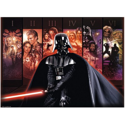 Puzzle Ravensburger-14665 Star Wars Saga