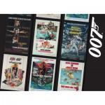 Puzzle  Ravensburger-14685 James Bond 007 Retro