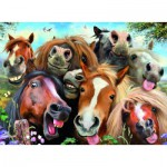 Puzzle  Ravensburger-14695 Selfies - Horsing Around