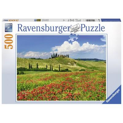 Puzzle Ravensburger-14700 Sommer in der Toskana