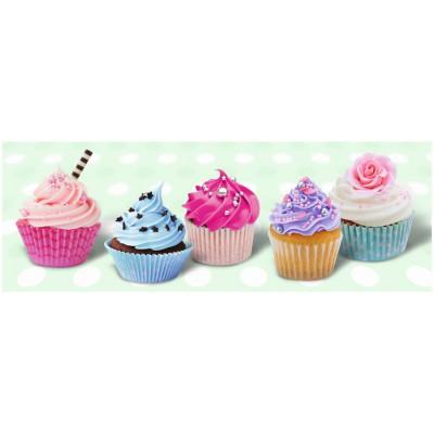 Puzzle Ravensburger-14803 Zuckersüße Cupcakes
