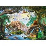 Puzzle  Ravensburger-14863 Starline: Tiere am Wasser