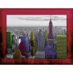 Puzzle  Ravensburger-14894 Couleurs de New York