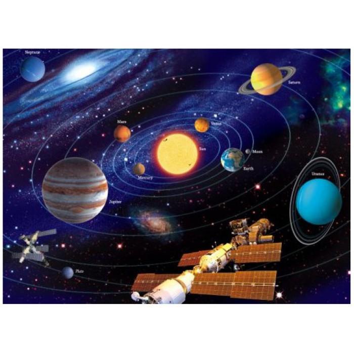 Puzzle 500 Teile fluoreszierend - Star Line: Das Sonnensystem