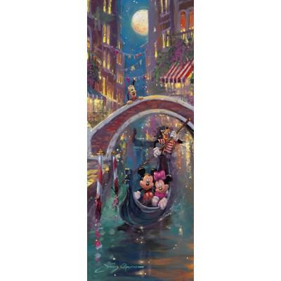 Puzzle Ravensburger-15055 Disney: Venetian Romance