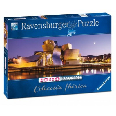 Puzzle Ravensburger-15072 Museo Guggenheim, Bilbao