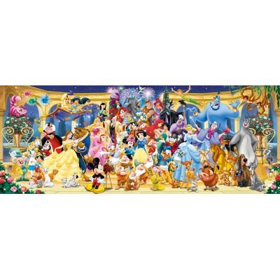 Puzzle Ravensburger-15109 Disney Gruppenfoto