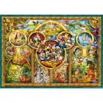 Puzzle  Ravensburger-15266 Die schönsten Disney Themen