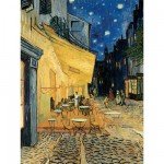 Puzzle  Ravensburger-15373 Café-Terasse am Abend