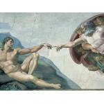 Puzzle  Ravensburger-15540 Michelangelo: Die Erschaffung Adams (Detail)