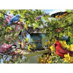 Puzzle  Ravensburger-15611 Time for Lunch