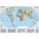 Puzzle  Ravensburger-15652 Politische Weltkarte
