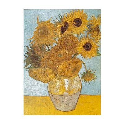 Puzzle Ravensburger-15805 Vase mit Sonnenblumen