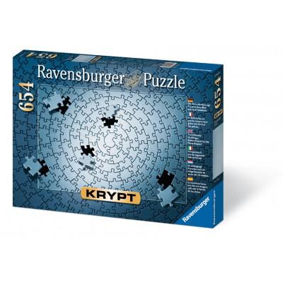 Puzzle Ravensburger-15964 Krypt Silber