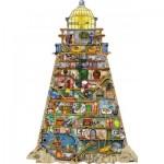 Puzzle  Ravensburger-16098 Colin Thompson - Wunderschöner Leuchtturm