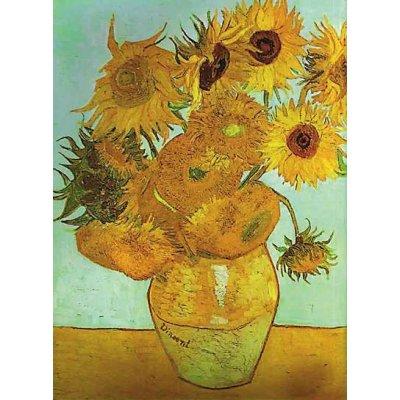 Puzzle Ravensburger-16206 Vase mit Sonnenblumen