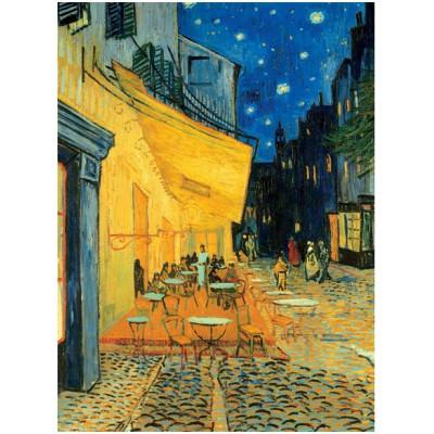 Puzzle Ravensburger-16209 Caféterasse am Abend