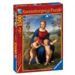Puzzle  Ravensburger-16249 Madonna del Cardellino