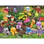Puzzle  Ravensburger-16260 Gelini: Gartenarbeit
