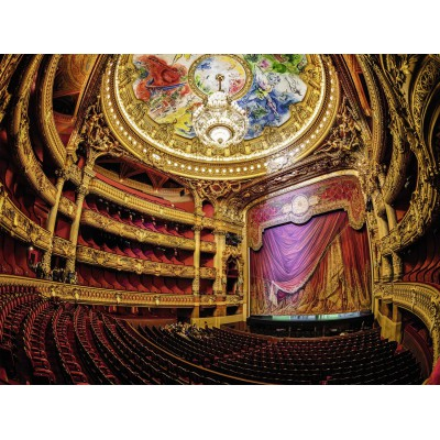 Puzzle Ravensburger-16302 Opernhaus
