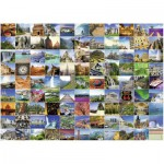 Puzzle  Ravensburger-16319 Landschaft