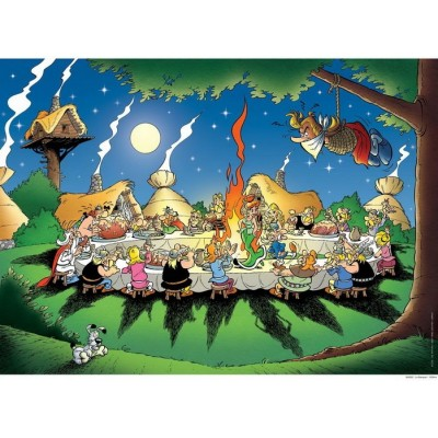 Puzzle Ravensburger-16321 Asterix und Obelix