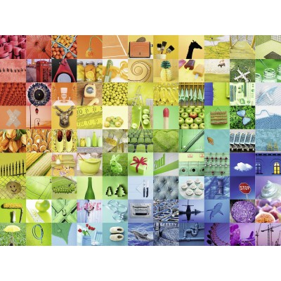 Puzzle Ravensburger-16322 99 Beautiful Colors