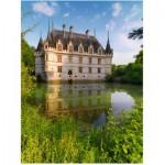 Puzzle  Ravensburger-16325 Schloss Azay le Rideau, Loiretal