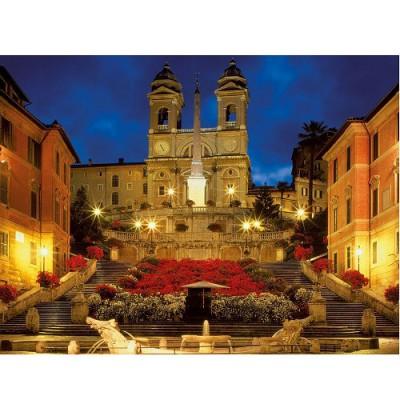 Puzzle Ravensburger-16370 Spanische Treppe, Rom