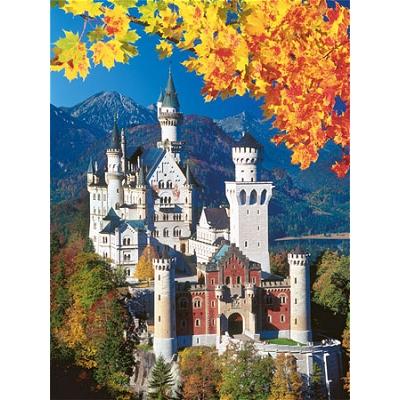 Puzzle Ravensburger-16386 Herbstliches Neuschwanstein