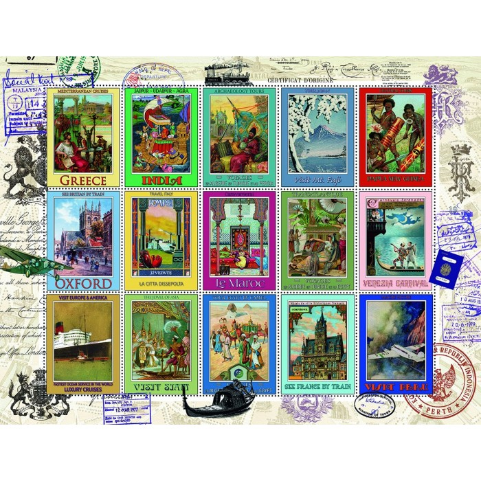 Vacations Stamps