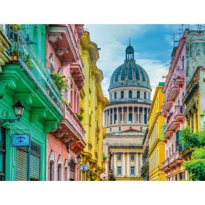 Puzzle Ravensburger-16618 Buntes Kuba