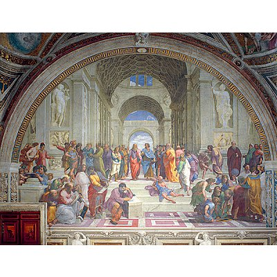 Puzzle Ravensburger-16669 Schule von Athen