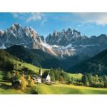 Puzzle  Ravensburger-16674 Die Dolomiten, Italien
