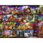 Puzzle  Ravensburger-16685 Aimee Stewart: Welt der Bücher