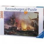 Puzzle  Ravensburger-17010 Das Bombardement von Algier