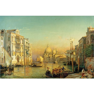 Puzzle Ravensburger-17035 Canale Grande