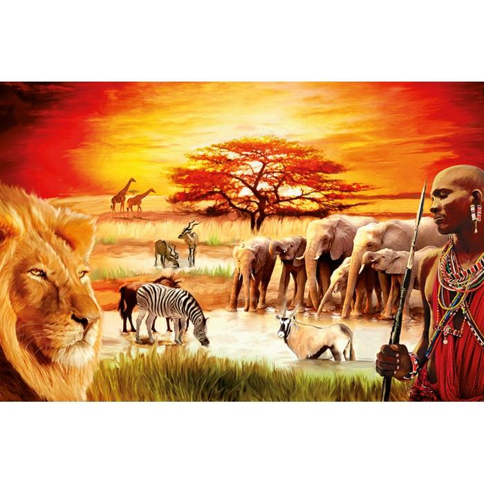 Stolzer Massai