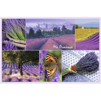 Puzzle Ravensburger-17060 Ma Provence