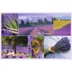 Puzzle  Ravensburger-17060 Meine Provence