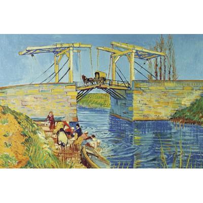 Puzzle Ravensburger-17065 Vincent Van Gogh: Brücke von Langlois