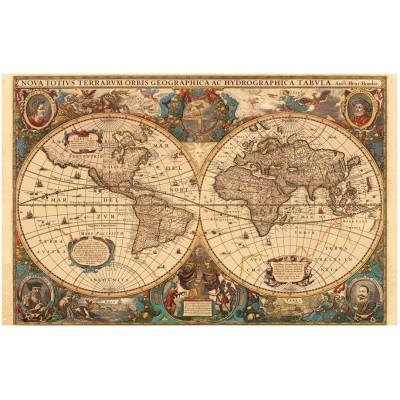 Puzzle Ravensburger-17411 Historische Weltkarte