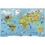 Puzzle  Ravensburger-17428 Faszination Erde