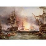 Puzzle  Ravensburger-17806 Das Bombardement von Algier
