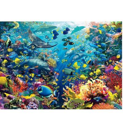 Puzzle Ravensburger-17807 Unterwasserwelt