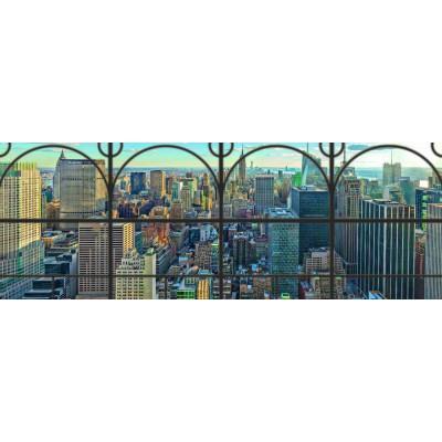Puzzle Ravensburger-17837 New York City Window